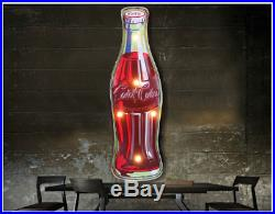 Vintage Coca Cola LED Neon Signs Wall Hanging Sign