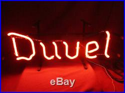 Vintage Duvel Brewery Neon Advertising Sign Brouwerij Duvel Moortgat NV