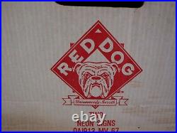 Vintage Early 1994 RED DOG NEON with FACE Sign 34 x 12 x 6 STILL IN BOX