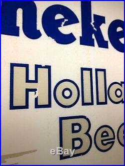 Vintage Heineken Holland Beer Neon Sign 1970s