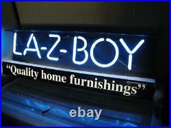 Vintage La-Z-Boy NEON sign Lazyboy Lazy Boy