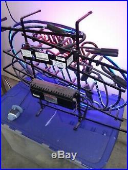 Vintage Miller Lite Neon Sign Bar Light