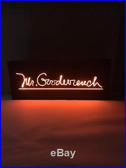 Vintage NEON Sign Mr Goodwrench