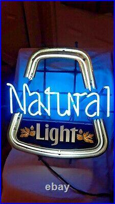 Vintage Natural Light Neon Electric Light Up Sign
