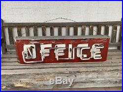Vintage Neon Sign Motel Gas And Oil