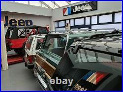 Vintage Official JEEP Dealership neon sign from Chrysler era