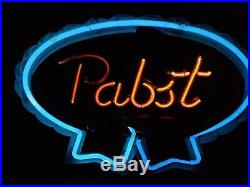 Vintage Pabst Blue Ribbon Neon Bar Sign (1950's Or 60's)