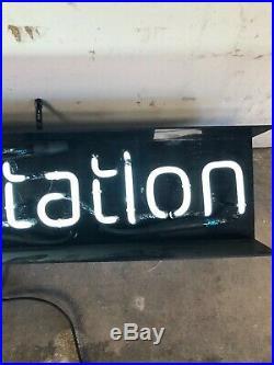 Vintage Playstation Neon Sign Original