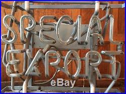 Vintage Special Export Neon Sign, Bar Restaurant Office Decor, Original Vintage