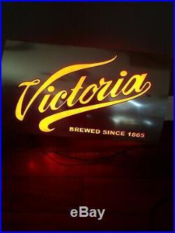 Vintage Victoria Beer Neon Sign RARE
