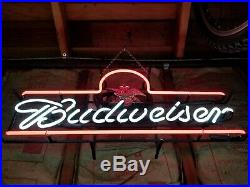 Vintage and rare Budweiser Neon Sign. Rare. Amazing condition