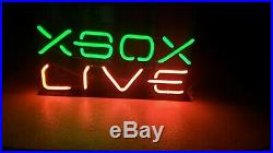 XBOX LIVE Neon Light DISPLAY SIGN Authentic Lighted Vintage RETAIL STORE Promo